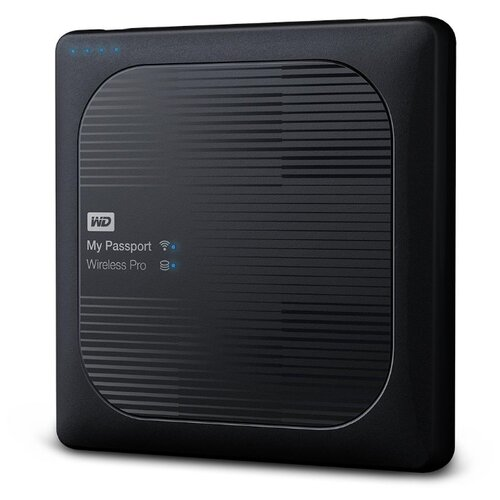 Фото - Внешний HDD Western Digital My Passport Wireless Pro 2 ТБ western digital wdblhr0020bbl eeue my passport 2 5 синий