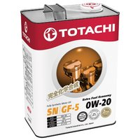 Моторное масло Totachi extra fuel fully synthetic sn sae 0w-20 (4л) 4562374690622