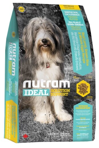 Nutram I20 Для собак с проблемами кожи, желудка (13.6 кг)