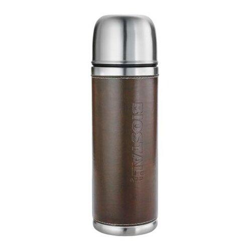 Классический термос Biostal NYP-750P (0,7 л) серебристый/коричневый