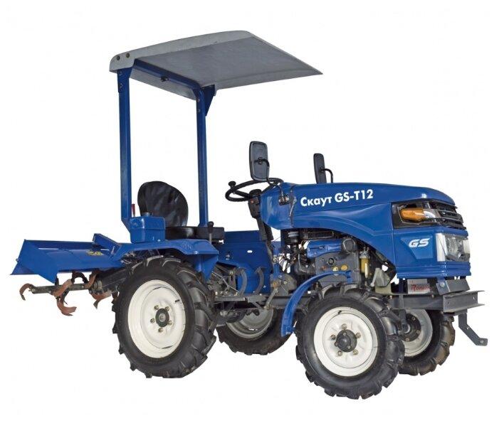 Мини-трактор Скаут T-12 (с дугой)