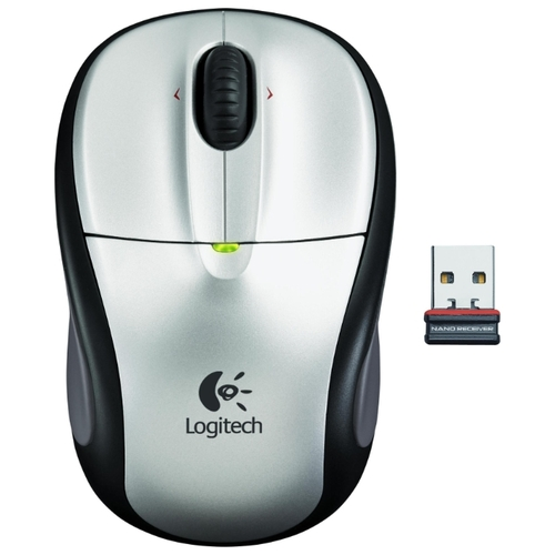 Мышь Logitech Wireless Mouse M305 Silver-Black USB