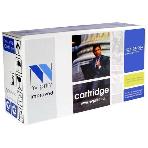 Картридж NV Print SCX-D4200A для Samsung, совместимый картридж nvprint scx d4200a для samsung scx d4200 3000стр