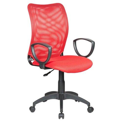 Компьютерное кресло Бюрократ CH-599AXSN офисное, обивка: текстиль, цвет: TW-97N красный