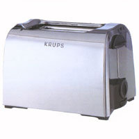 Тостер Krups 156 ToastControl Chrome C