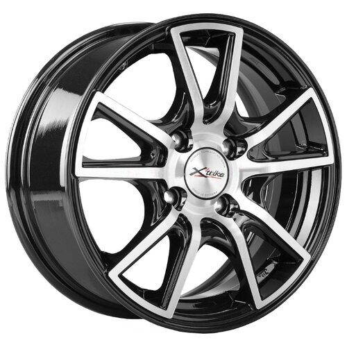 цена Колесный диск X'trike X-104 6x14/4x100 D67.1 ET38 BK/FP онлайн в 2017 году