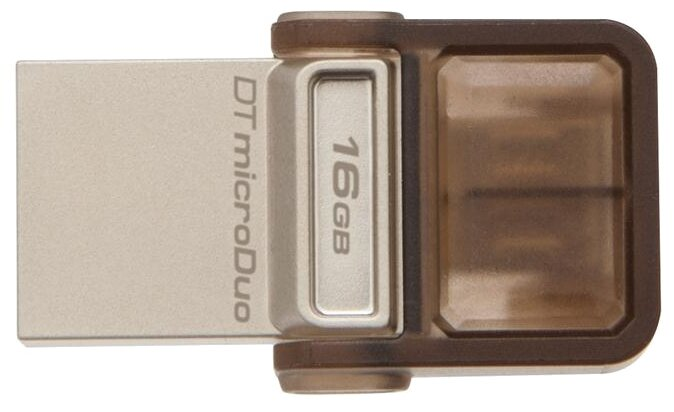 Флешка Kingston DataTraveler microDuo 16GB