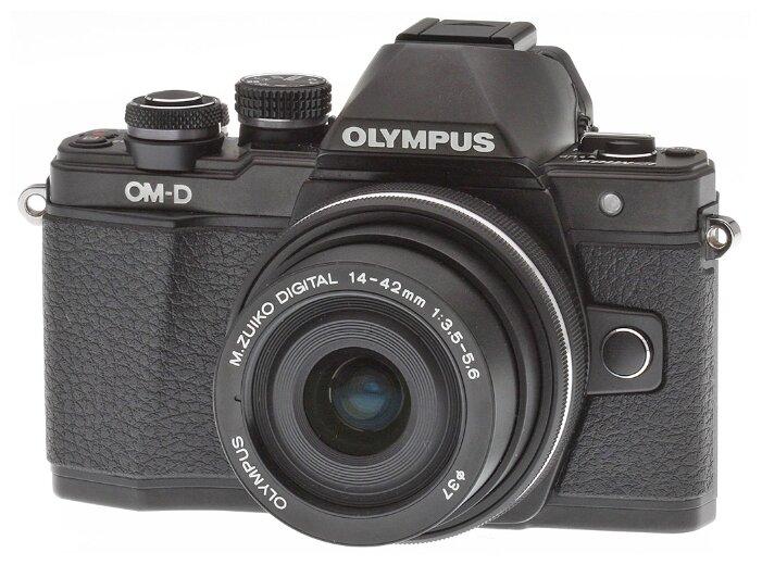 Olympus Фотоаппарат со сменной оптикой Olympus OM-D E-M10 Mark II Kit