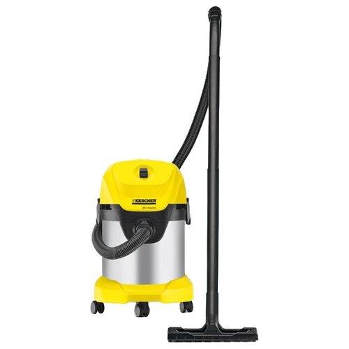 Профессиональный пылесос KARCHER WD 3 Premium 1000 Вт желтый