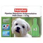 Beaphar Капли Био от блох, клещей и комаров для собак мелких пород