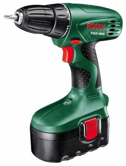 Bosch PSR 18 1.2Ah x2 Case