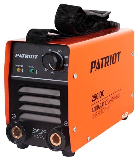 Сварочный аппарат PATRIOT 250 DC
