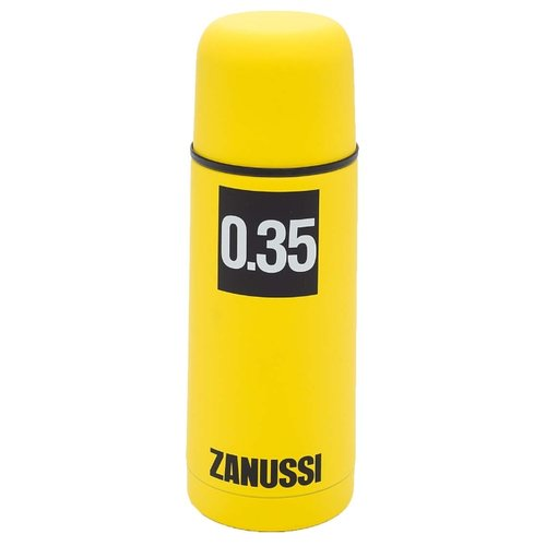 Классический термос Zanussi Cervinia (0,35 л) желтый классический термос zanussi cervinia 1 л черный
