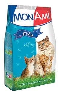 MonAmi Сухой корм для кошек Рыба (0.4 кг) 1 шт.