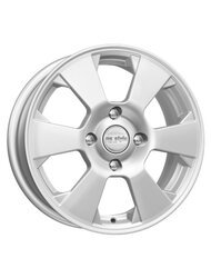 Диски R15 4x100 6,0J ЕТ40 D60,1 K&K ZV Logan New КС718 Сильвер - фото 1