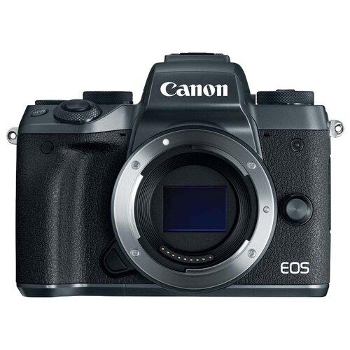 Фотоаппарат Canon EOS M5 Body черный  - купить со скидкой