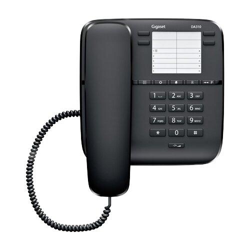 Телефон Gigaset DA310 черный  - купить со скидкой