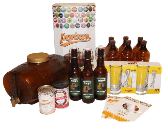 Мини-пивоварня InPinto SuperMen
