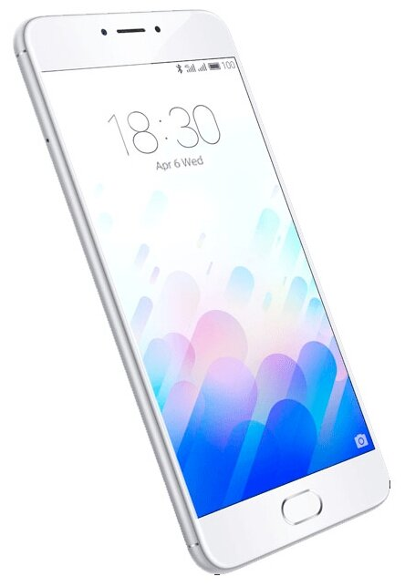 купить смартфон meizu m3 note 16gb silver/white