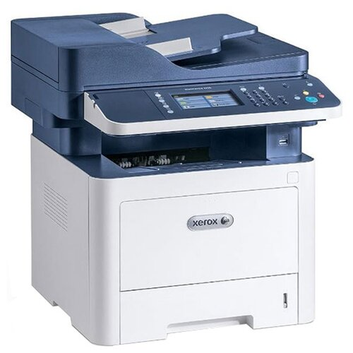 Фото - МФУ Xerox WorkCentre 3335, белый/синий парогенератор tefal gv8977 2400вт белый синий