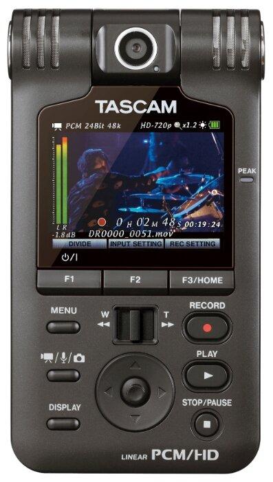 Tascam Портативный рекордер Tascam DR-V1HD