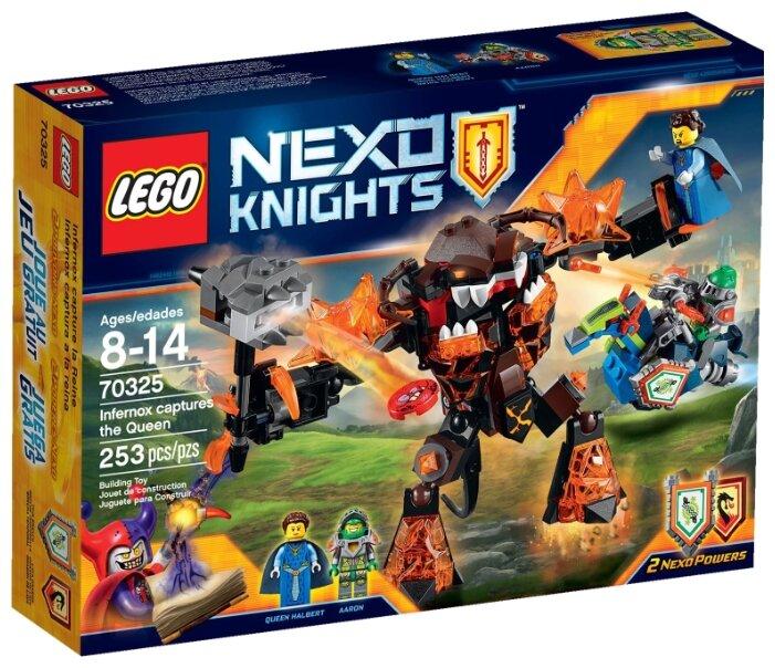 Классический конструктор LEGO Nexo Knights 70325 Инфернокс захватывает Королеву