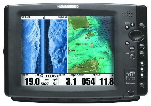 Эхолот Humminbird 1198c SI Combo