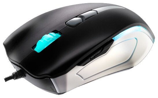 Мышь Tt eSPORTS by Thermaltake Gaming Mouse BLACK Element COMBAT WHITE USB