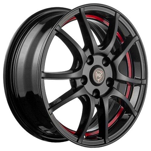 Фото - Колесный диск NZ Wheels F-43 6x15/4x100 D54.1 ET48 BKRSI колесный диск nz wheels sh662 6x15 4x100 d54 1 et48 sf