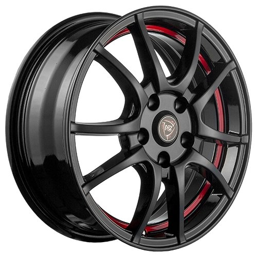 Колесный диск NZ Wheels F-43 6.5x16/4x100 D54.1 ET49 BKRSI nz f 43 6 5x16 4x100 d60 1 et50 bkrsi
