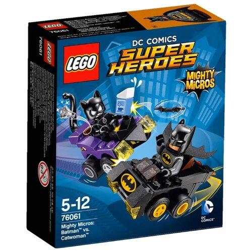Конструктор LEGO DC Super Heroes 76061 Бэтмен против Женщины-Кошки printio бэтмен против супермена