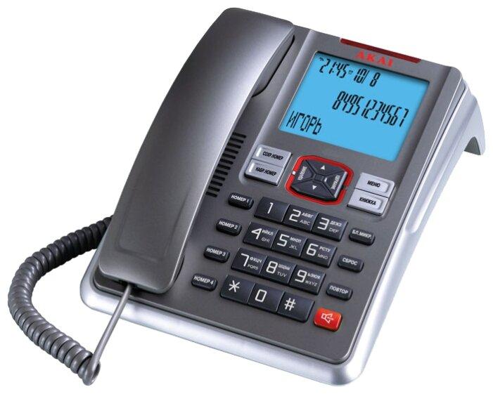Телефон проводной Akai AT-A19TS