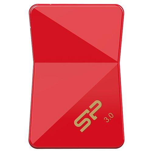 Фото - Флешка Silicon Power Jewel J08 16GB красный флеш диск silicon power 16gb jewel j01 sp016gbuf3j01v1r usb3 1 серебристый красный