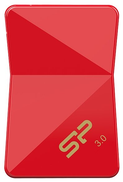 Флешка Silicon Power Jewel J08 16GB SP016GBUF3J08V1R USB3.0 красный