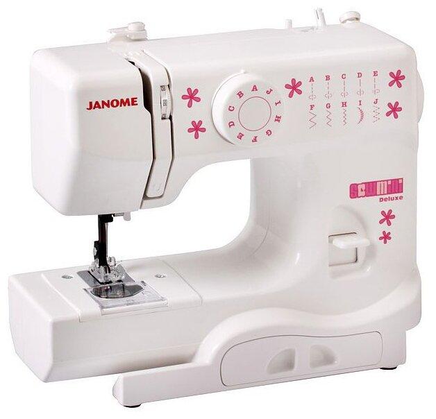 Сравнение с Janome Sew Mini Deluxe швейная машина