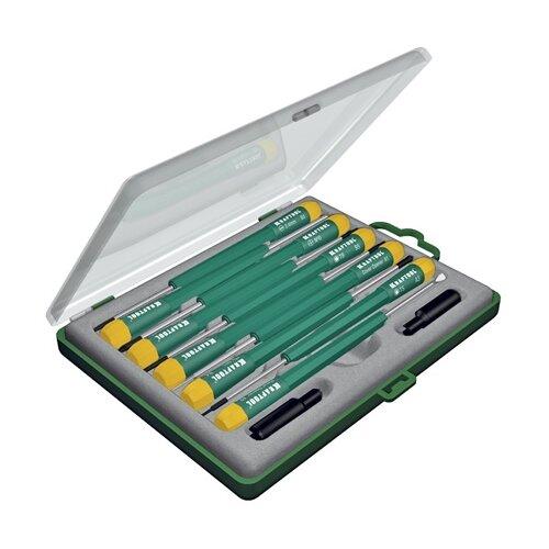 Фото - Набор отверток для точных работ Kraftool 25616-H12 набор отверток и инструментов kraftool x drive electro высоковольтных до 1000 в 18 предметов 220092 h18