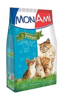 MonAmi Сухой корм для кошек Дичь (0.4 кг)