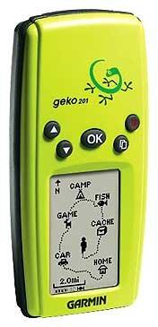 Навигатор Garmin Geko 201