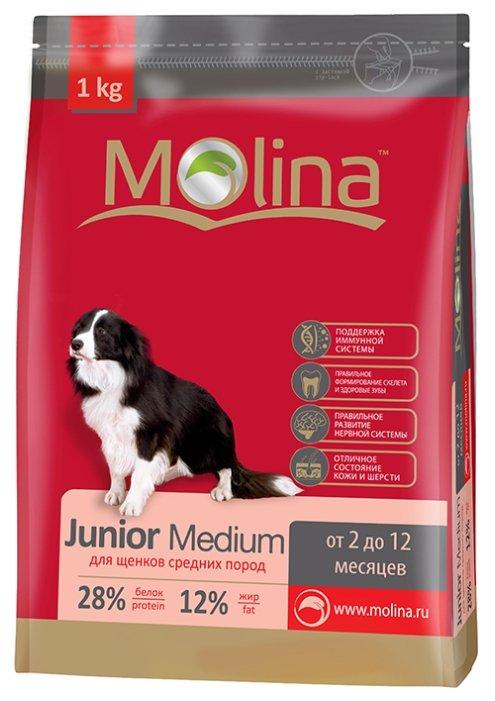 Корм для собак Molina Junior Medium (7.5 кг)
