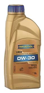 Моторное масло Ravenol VSW SAE 0W-30 1 л