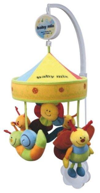 Механический мобиль Baby Mix Букашки под куполом 754MC