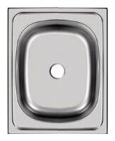 Накладная кухонная мойка UKINOX Standart STD 500.400-4C 0C 40х50см нержавеющая сталь
