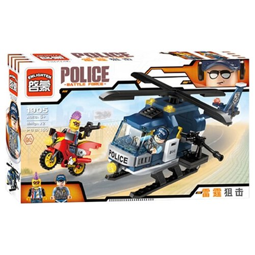 Конструктор Qman Police 1905 Громовой снайперКонструкторы<br>