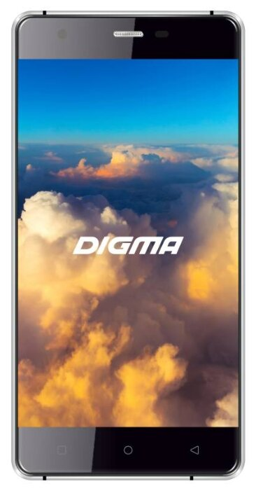 Смартфон Digma VOX S503 4G 16Gb белый/серебристый (VS5008ML white/silver)