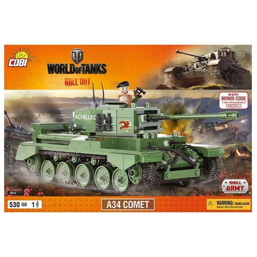 Конструктор Cobi World of Tanks 3014 Комета