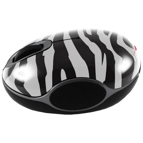 Мышь Oklick 535 XSW Optical Mouse Zebra Black-White USB