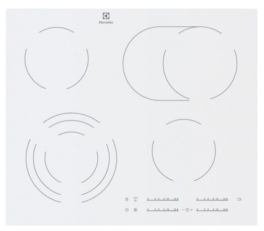 Electrolux Варочная панель Electrolux EHF 96547 SW