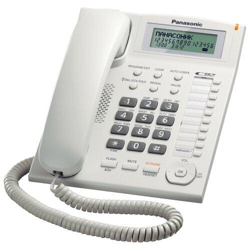 Купить Телефон Panasonic KX-TS2388 белый