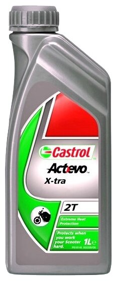 Моторное масло Castrol Act>Evo X-tra 2T 1 л