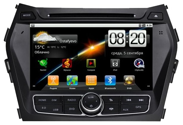 "Автомагнитола CarSys Android Hyundai IX 45 8"""
